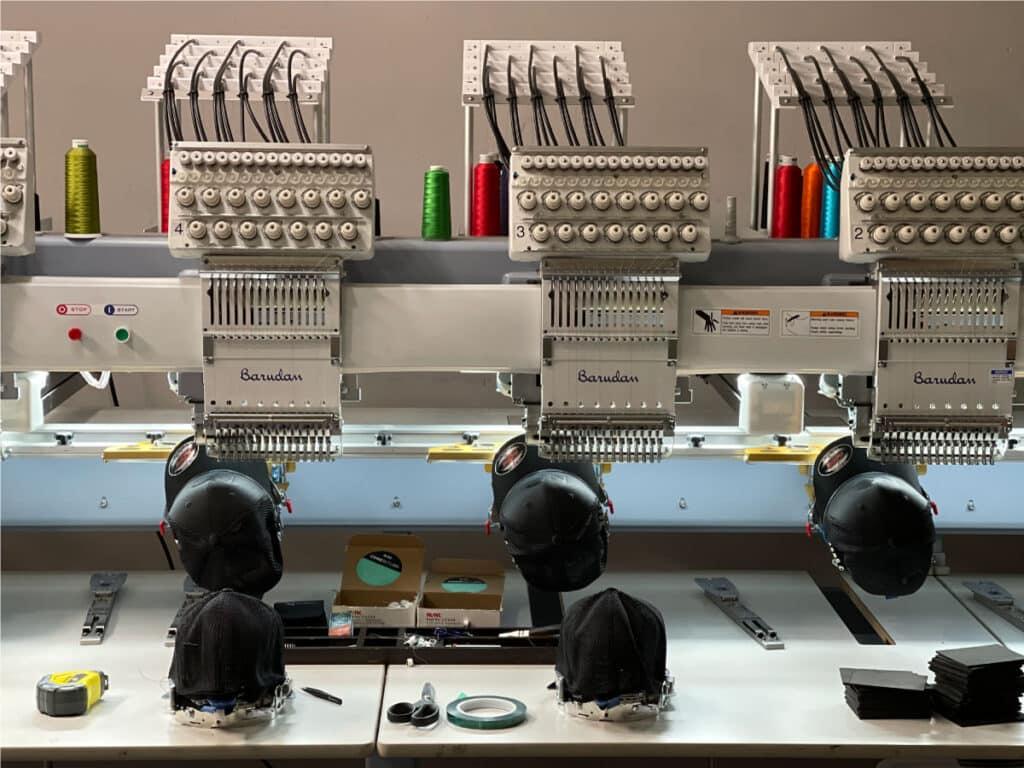 Barudan F Series 6 Head Commercial Embroidery Machine